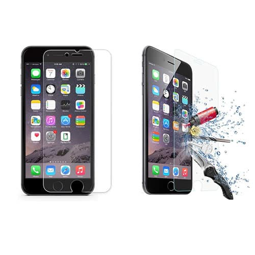 iPhone Tempered Glass 9H 2.5D Anti Fingerprints