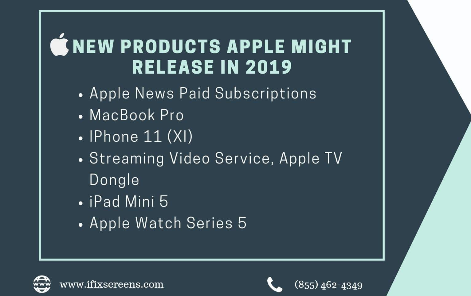 c8896d845f80f83 As we know that every year, Apple makes changes to its product collection,  and 2019 is shaping up a considerable amount of major upgrades.