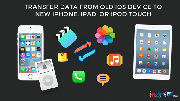 Transfer data from old iOS device to new iPhone, iPad, or iPod touch