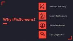 Why iPhone repair at ifixscreens_