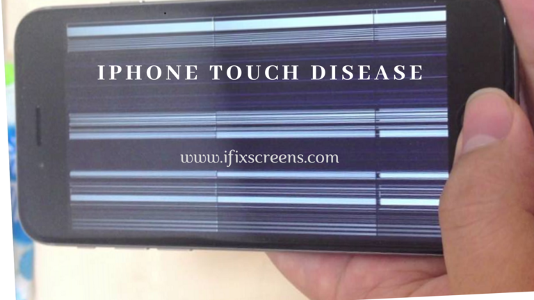 iPhone touch disease