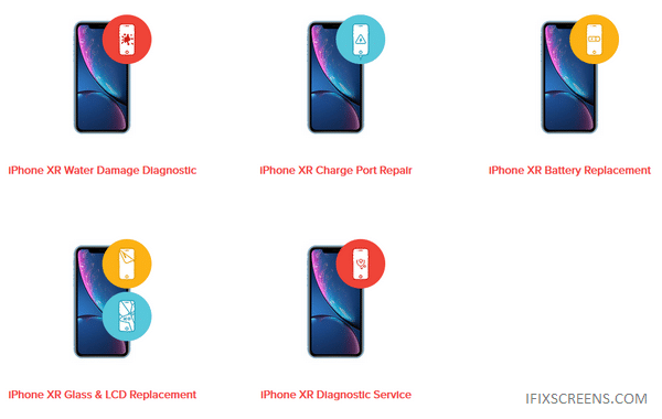 Types of iPhone XR Repair & Replacement