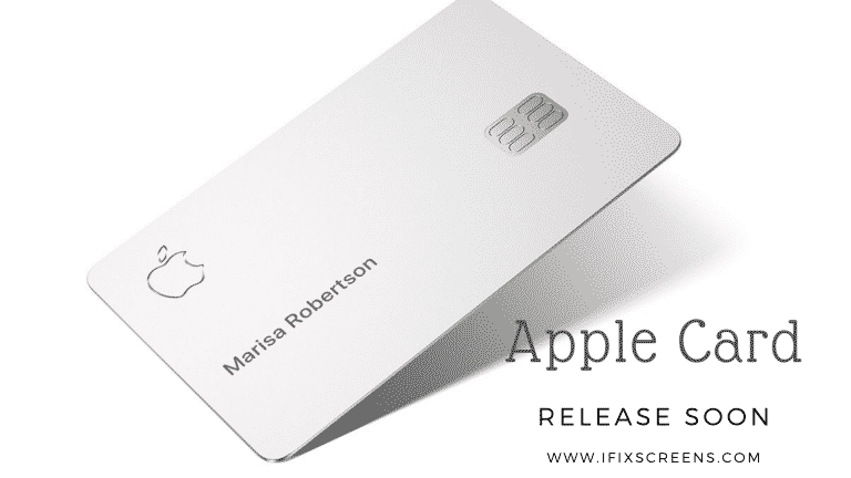 Apple Card will Launch in August