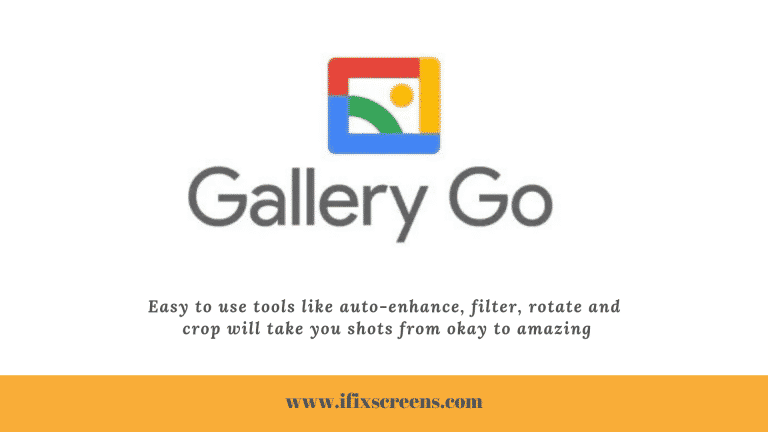Google Gallery Go App