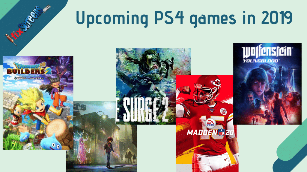 upcoming PlayStation 4 (PS4) games in 2019