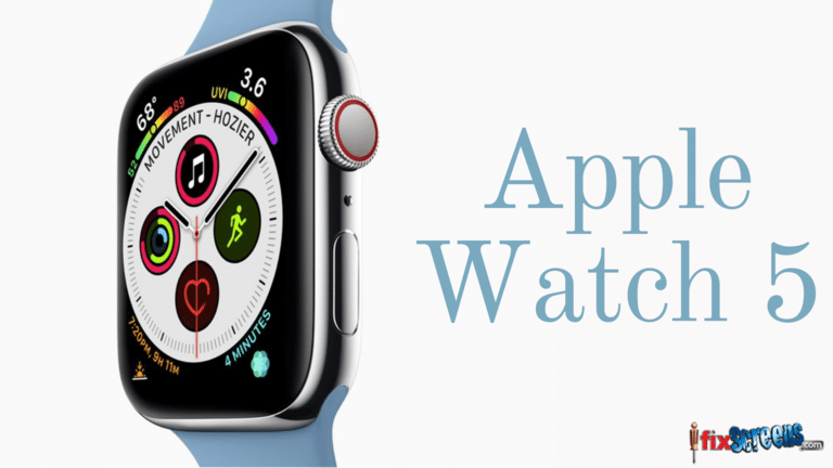 Apple Watch 5 Release date and Advanced Features