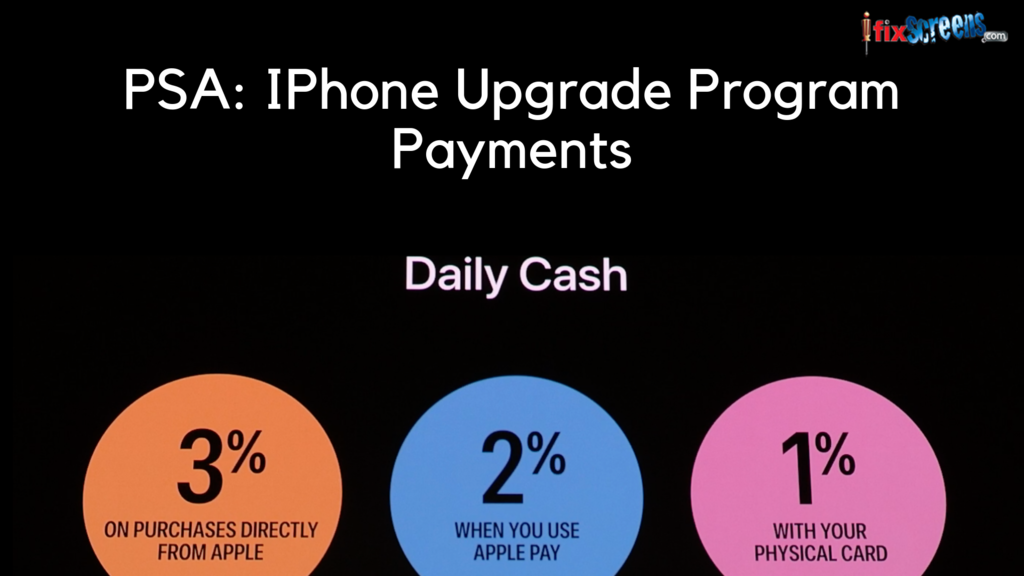 IPhone Upgrade Program Earn Cashback Through Apple Card