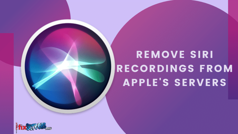 Steps to Delete Siri Recordings from Apple Servers