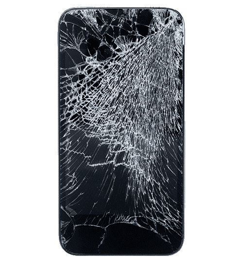 broken iphone png