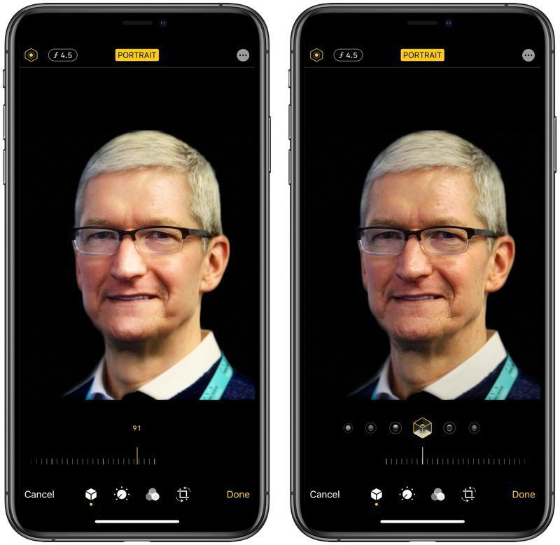 Portrait Lighting & Portrait Mode in iOS13