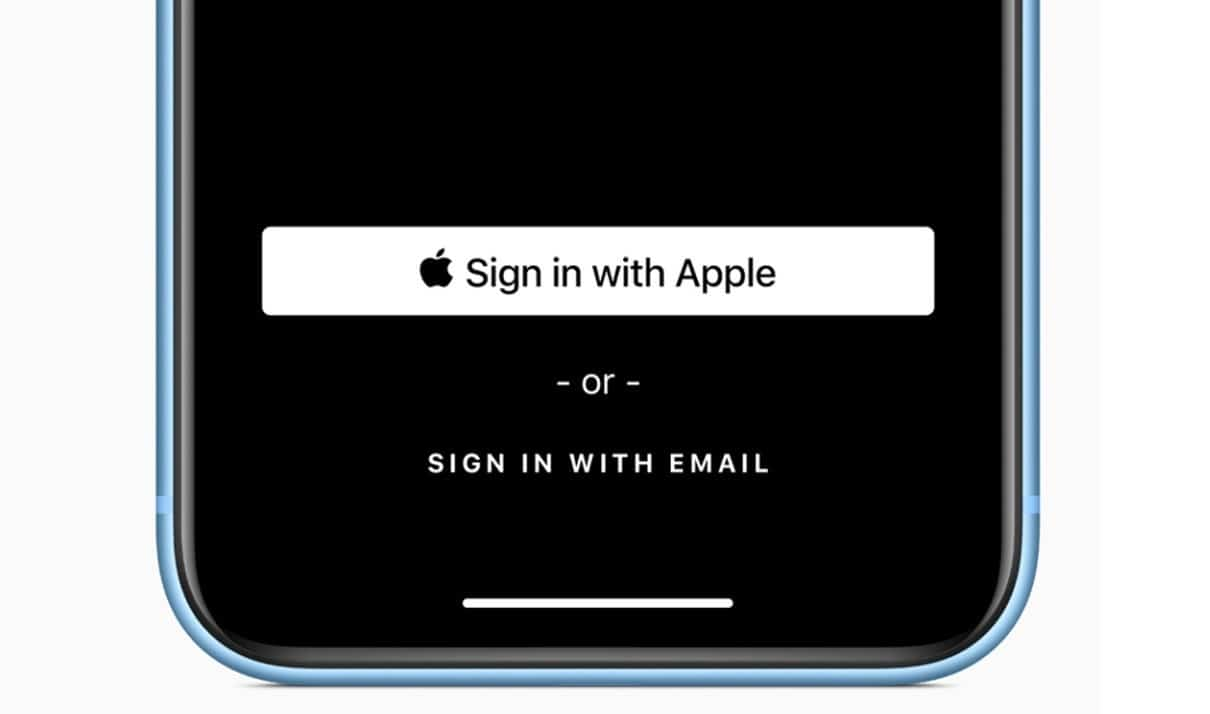 Sign-in with Apple example iOS13