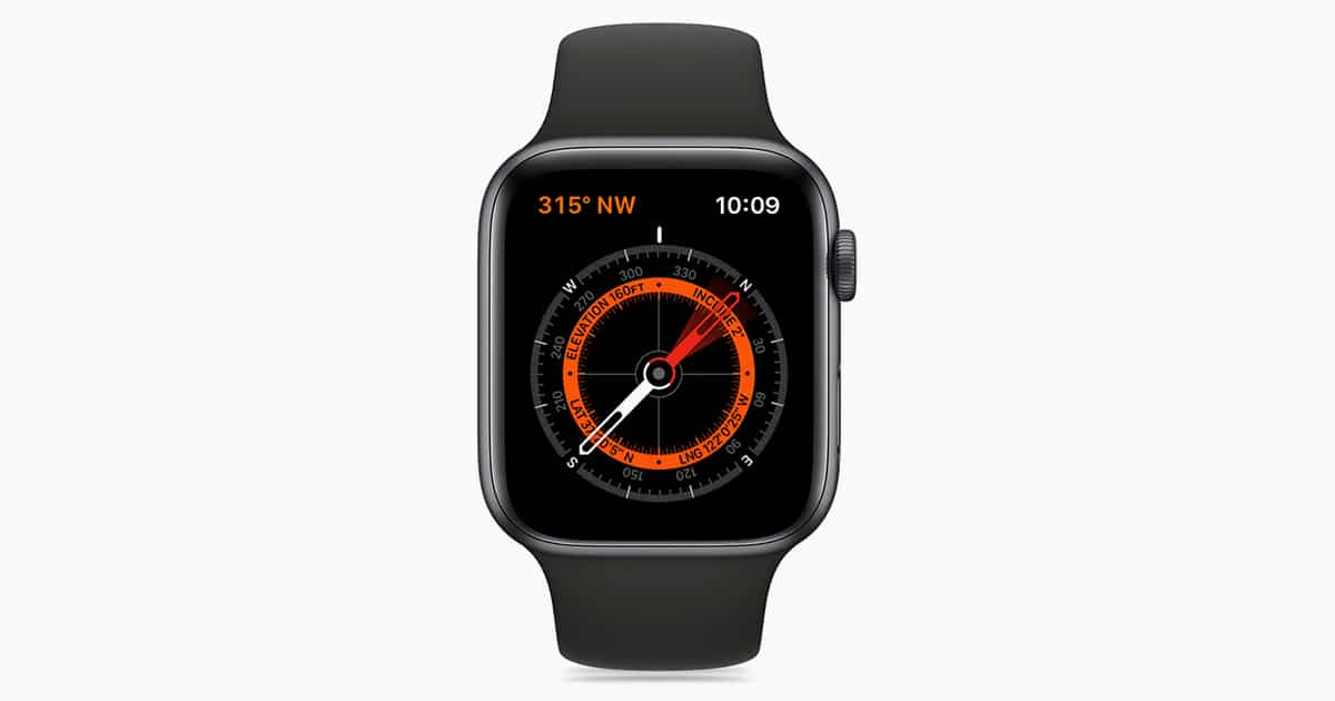 apple watch compass app
