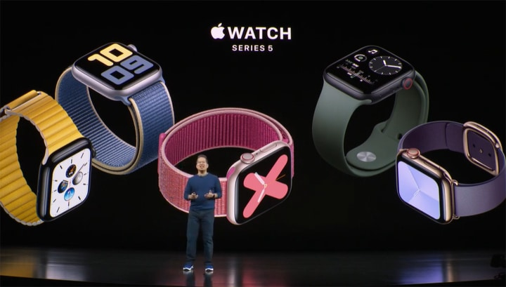 Apple Series 5 launch