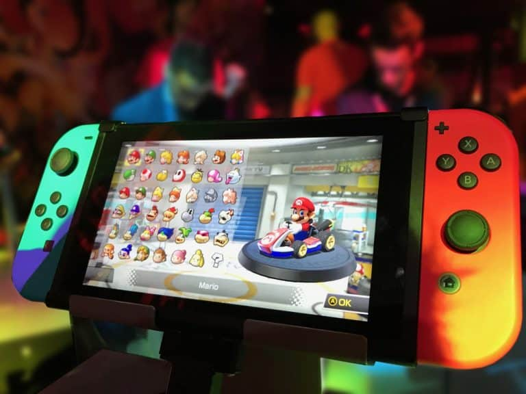 problems in Nintendo switch