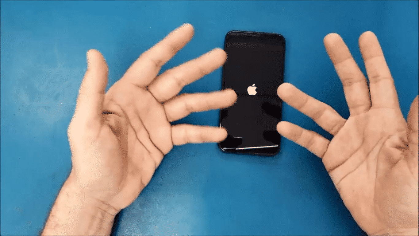 Temporary Freezing of Your iPhone's Screens