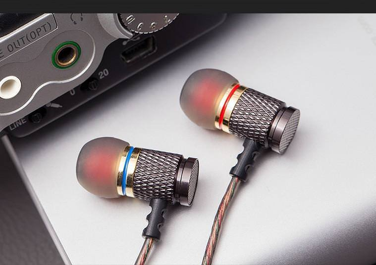 Super Bass 3.5mm Stereo In-Ear Earphone,Tuscom@ Music Metal Heavy Bass Sound Headset