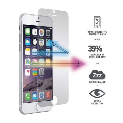 sub4iPhone Tempered Glass 9H 2.5D Anti Fingerprints
