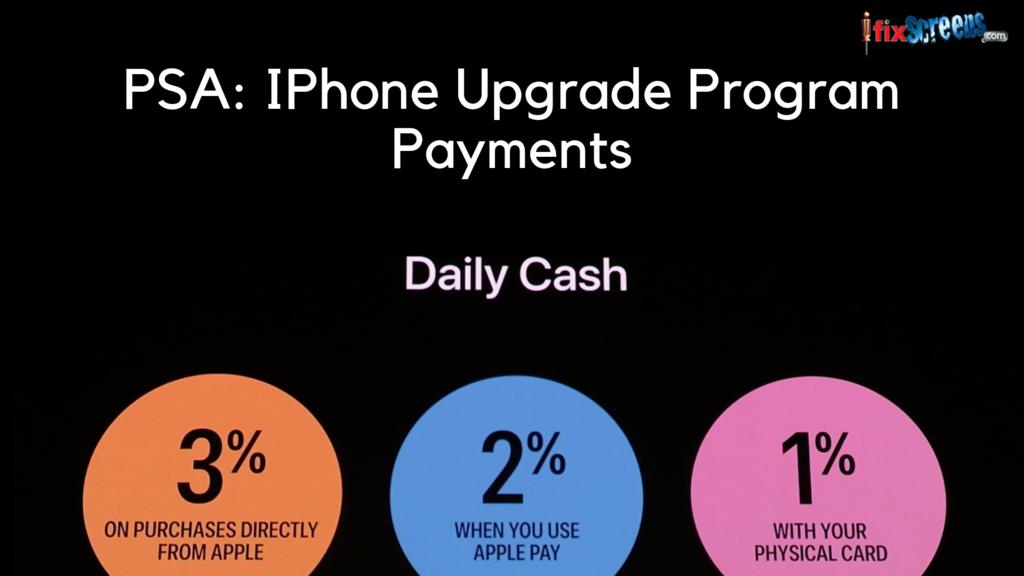IPhone Upgrade Program Earn Cashback Through Apple Card