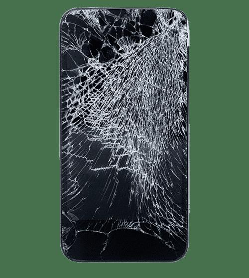 broken iphone png