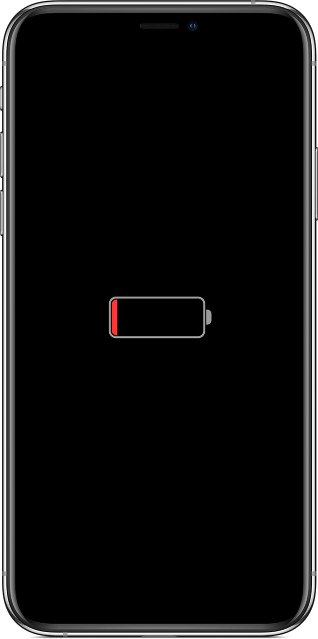 ios13 iphone xs low battery