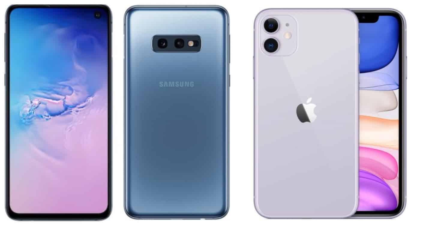 Samsung Galaxy S10e VS iPhone 11