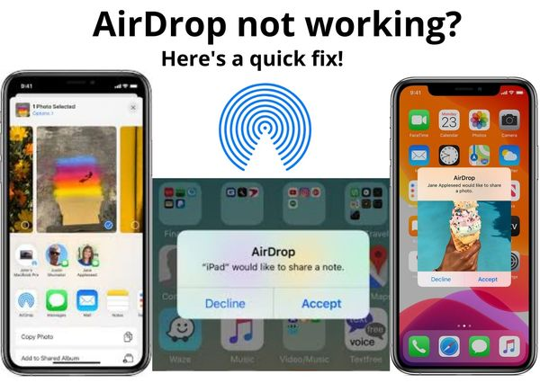 5 working solutions for AirDrop not working. Here's a fix!