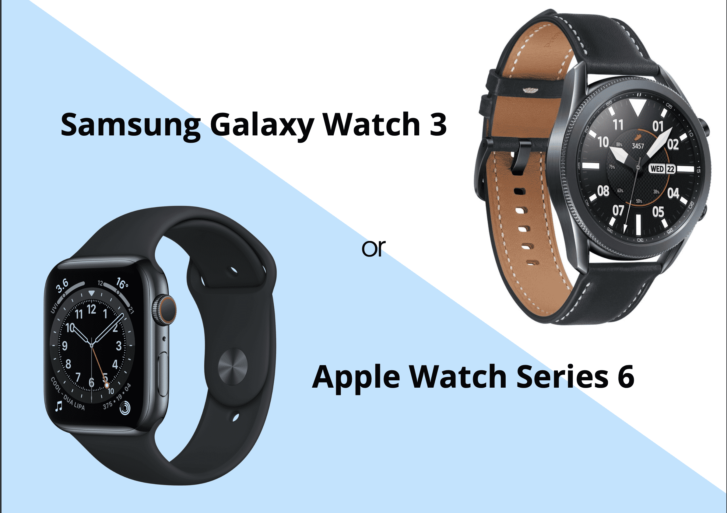 Honest Review: Apple Watch 6 vs Samsung Galaxy watch 3 – Which one should you buy?
