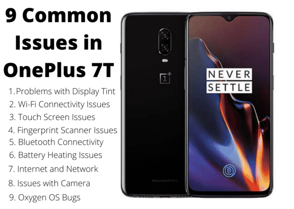 issues with oneplus 7t