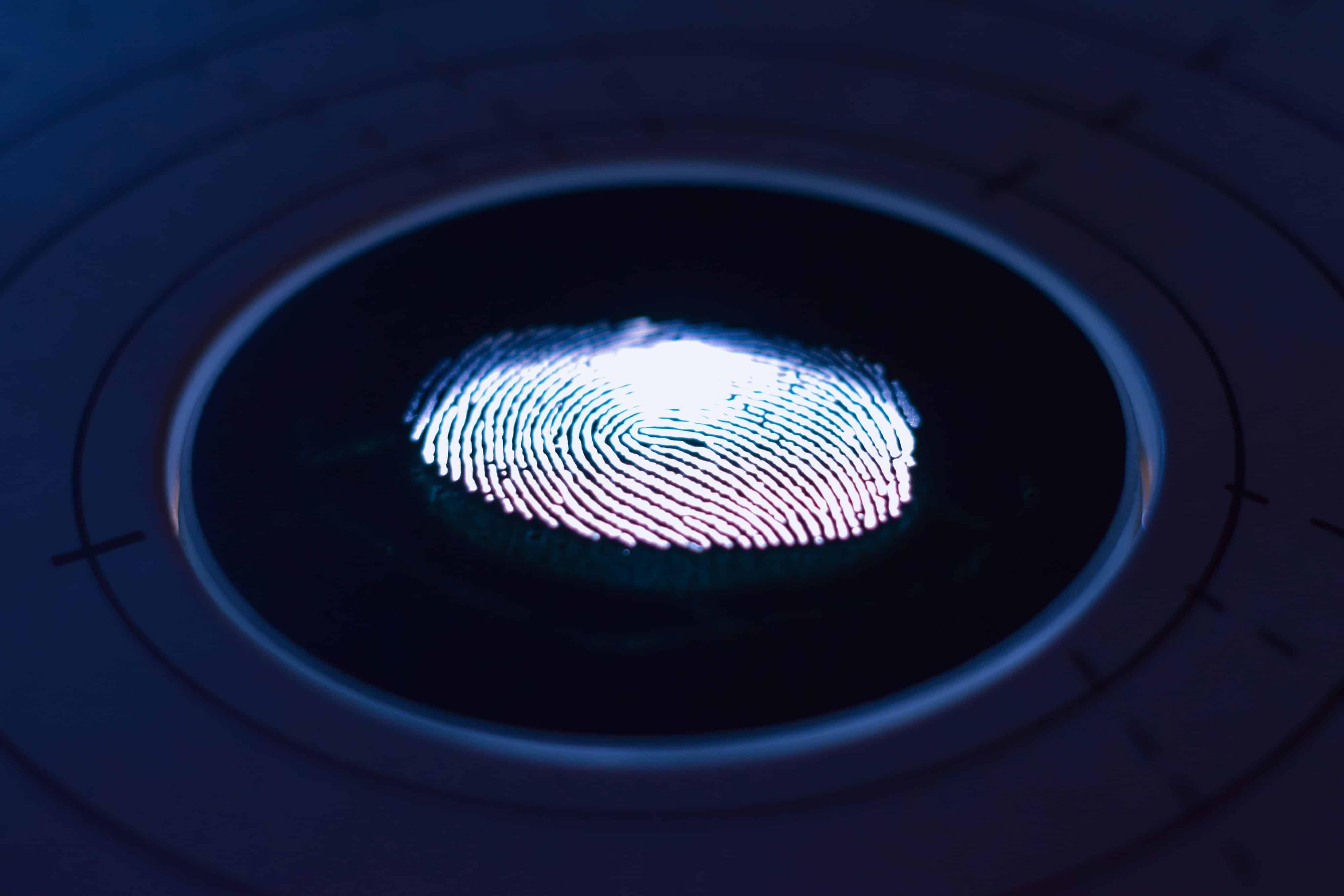 iPhone fingerprint sensor