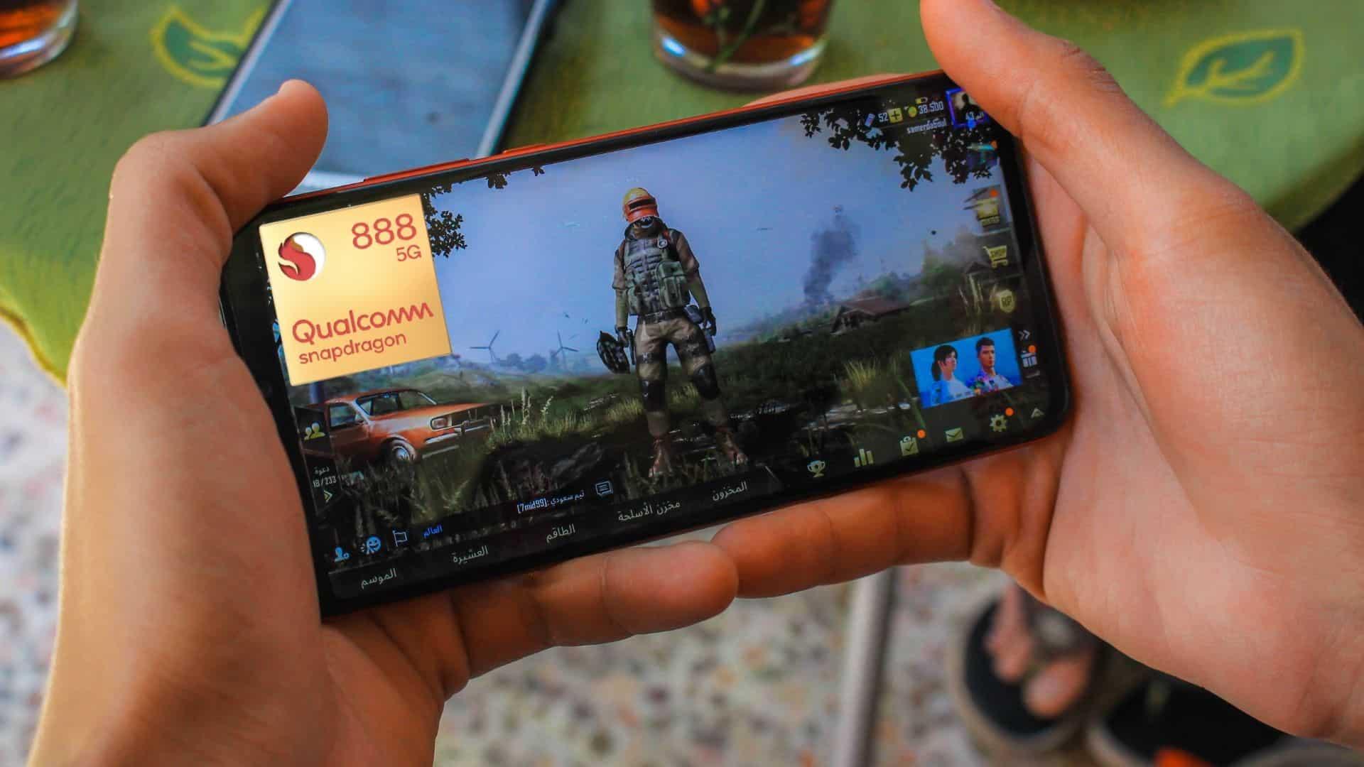 Qualcomm Snapdragon 888 gaming